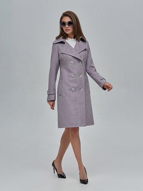 Пальто бузкове Mila Nova 4912884