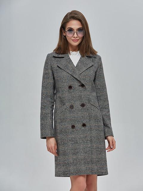 Пальто сіре Mila Nova 4912885