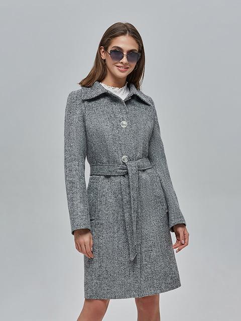 Пальто сіре Mila Nova 4912886
