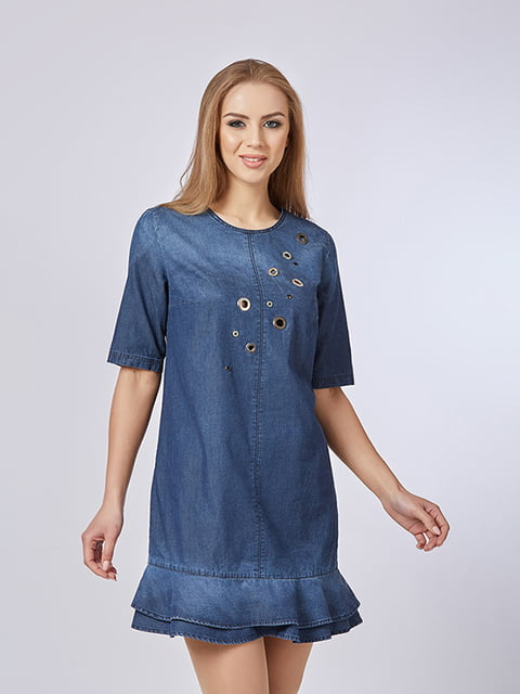 Сукня синя Mila Nova 4912908