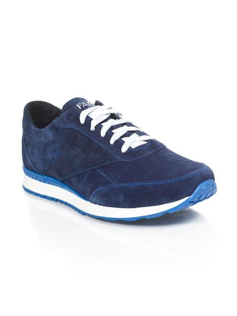 Кроссовки синие Fabiani 4893644