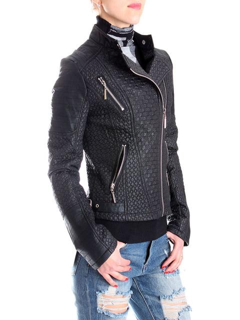 Куртка чорна Andrea Crocetta 4913095