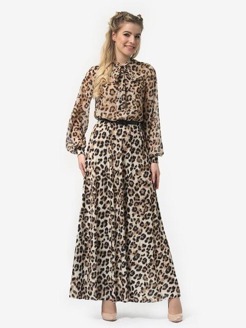 Платье в леопардовый принт LILA KASS 4913325