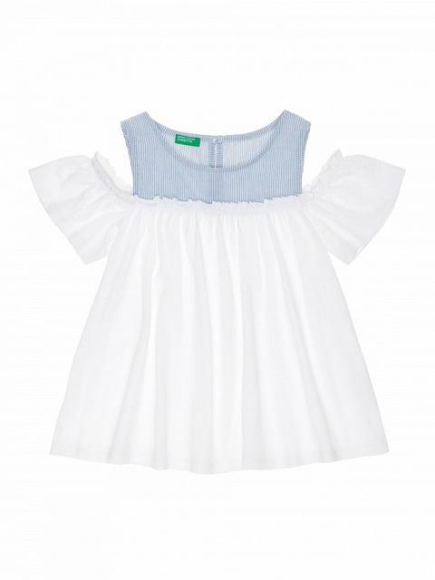 Блуза двухцветная Benetton 4864456