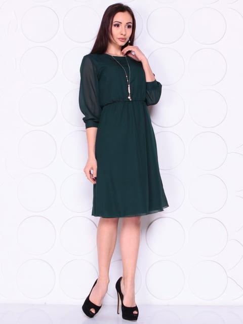 Платье темно-изумрудного цвета Laura Bettini 4914291