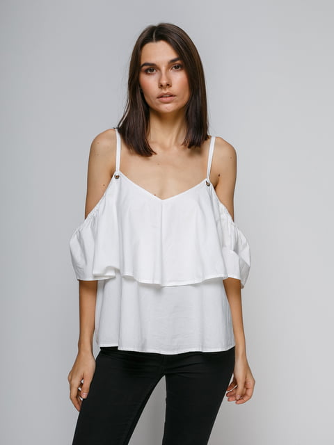 Блуза біла Pimkie 4871453