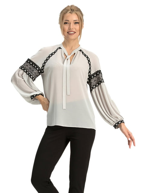 Блуза сіра Lesya 4068326