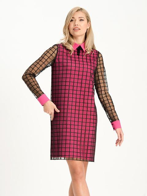 Платье в клетку Lesya 4068361