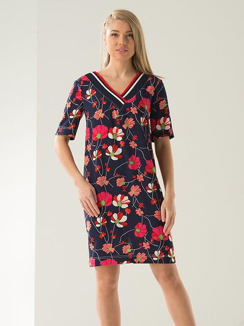 Платье в цветочный принт Lesya 4138710