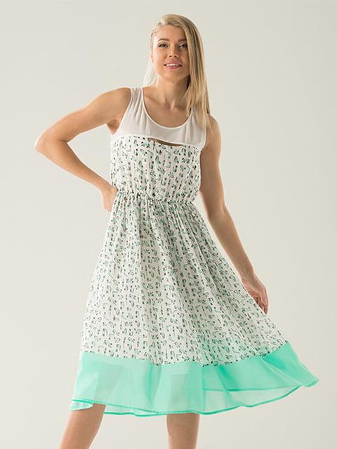 Платье в принт Lesya 4177926