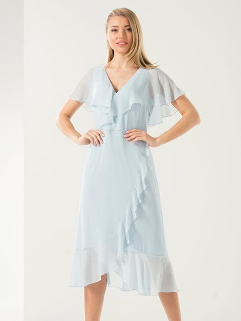 Сукня блакитна Lesya 4302412