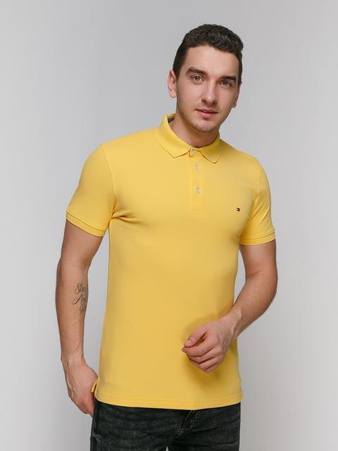 Футболка-поло жовта Tommy Hilfiger 4910639