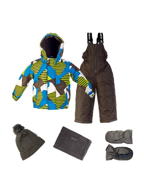 Комплект: куртка, напівкомбінезон, шапка, шарф і рукавиці Gusti Boutique 4856630