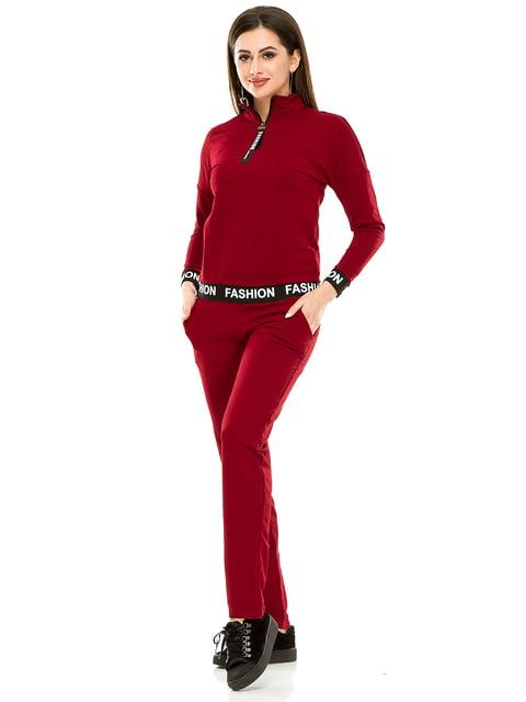 Костюм: джемпер и брюки Exclusive. 4890737
