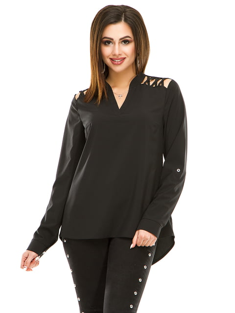 Блуза чорна Exclusive. 4917439