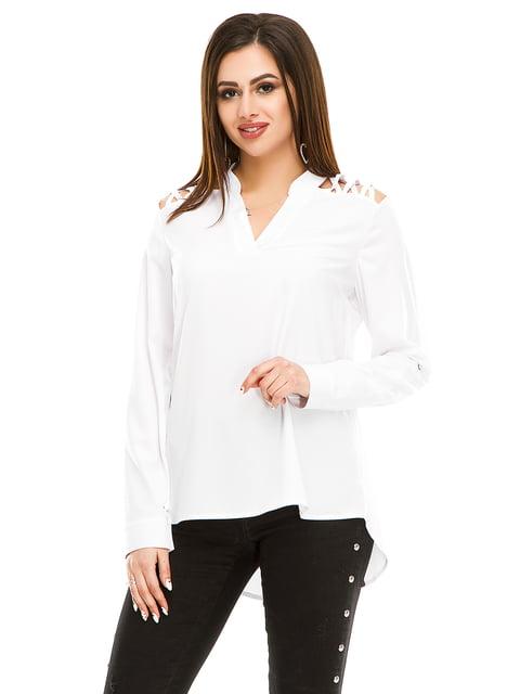 Блуза белая Exclusive. 4917443