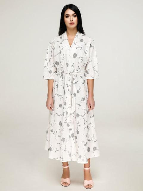 Сукня біла в квітковий принт Favoritti 4917528