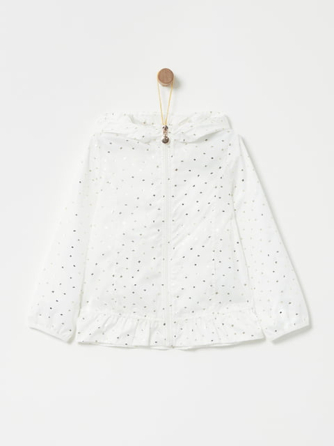 Куртка белая в принт Oviesse 4902855
