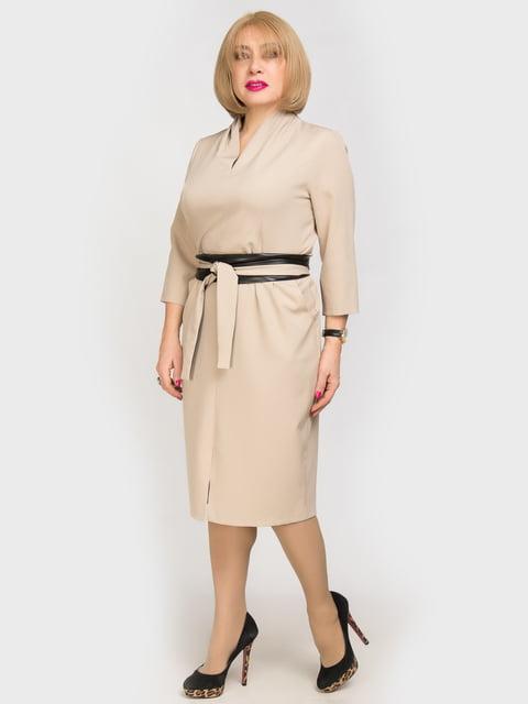 Платье бежевое LibeAmore 4917749
