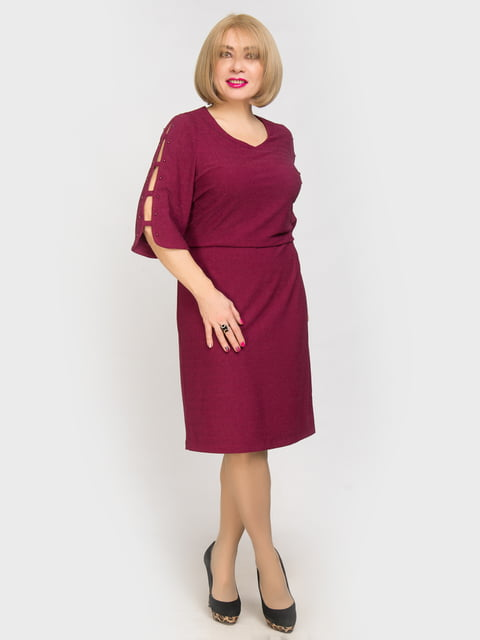 Платье бордовое LibeAmore 4917805
