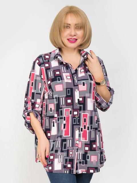 Рубашка в принт LibeAmore 4917828