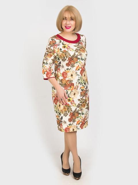 Платье в цветочный принт LibeAmore 4917834