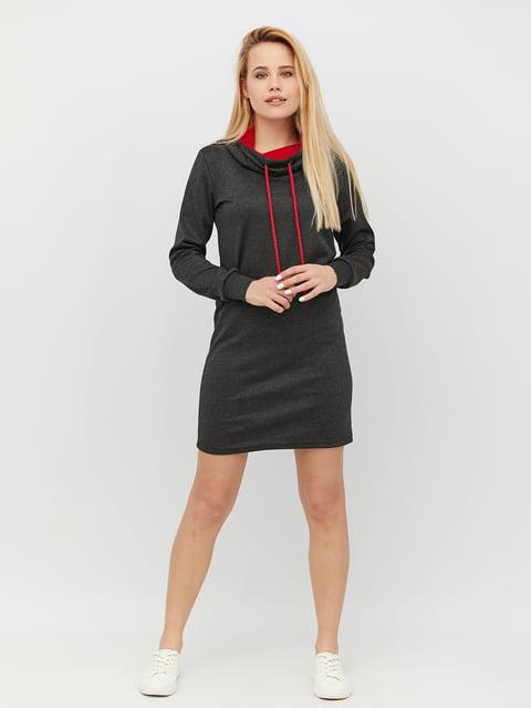 Платье темно-серое CRISS 4918231