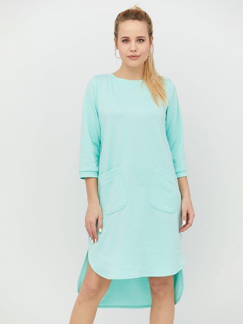 Платье мятного цвета CRISS 4918233