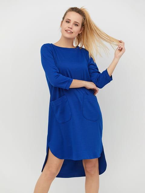 Платье цвета электрик CRISS 4918234