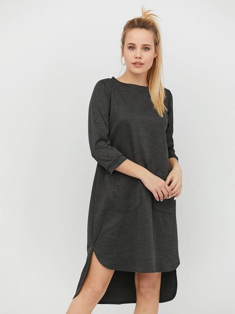 Платье темно-серое CRISS 4918235