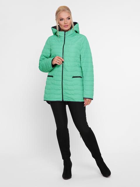 Куртка кольору м'яти WELLTRE 4918815