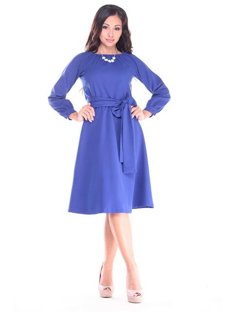 Платье цвета электрик Laura Bettini 4919767