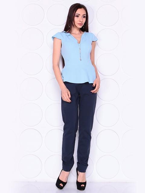 Блуза блакитна Laura Bettini 4919774