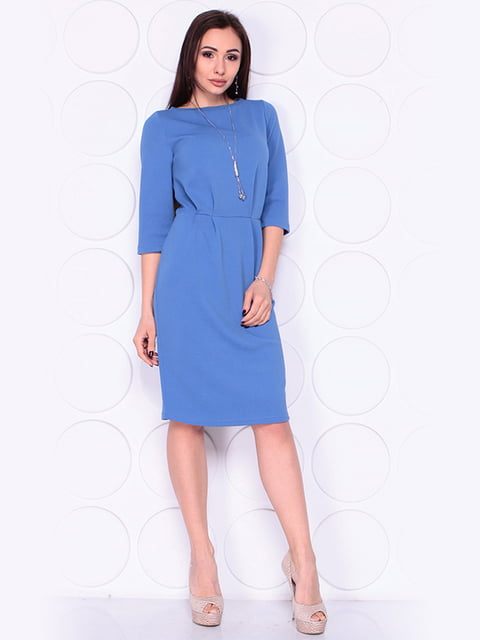 Сукня кольору джинс Laura Bettini 4919796