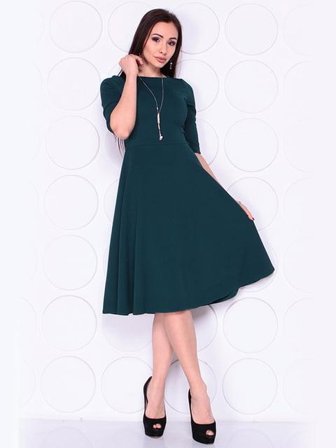 Платье темно-изумрудного цвета Laura Bettini 4919797