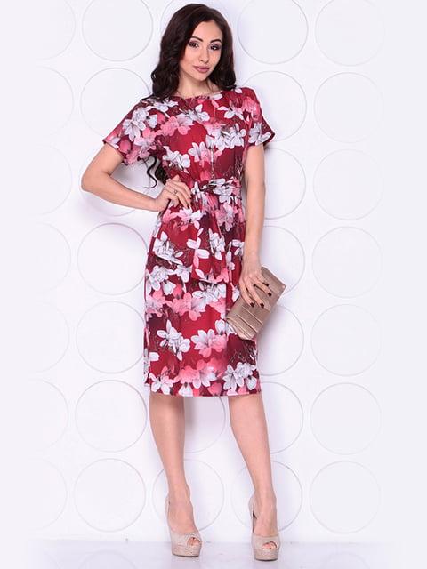 Платье в цветочный принт Laura Bettini 4911541