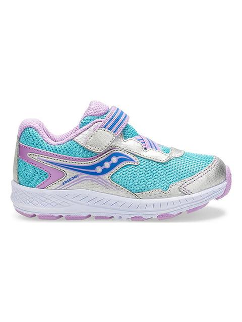 Кросівки сріблясто-блакитні Ride 10 SAUCONY 4920925