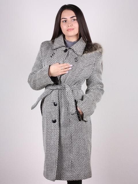 Пальто серое Artua Collection 4922378
