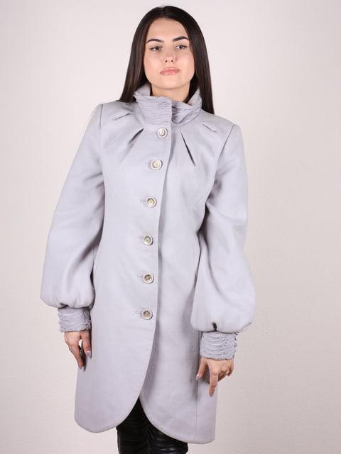 Пальто серое Artua Collection 4922397