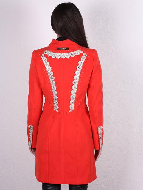 Пальто красное Artua Collection 4922426