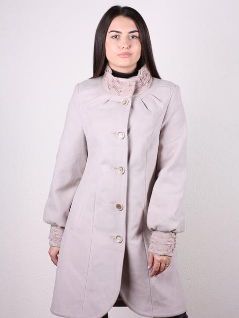Пальто бежевое Artua Collection 4922427