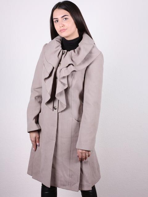 Пальто бежевое Artua Collection 4922435