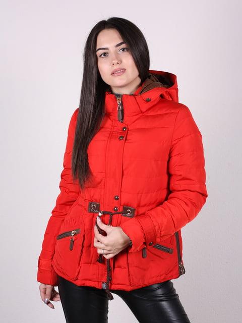 Куртка красная Artua Collection 4922454