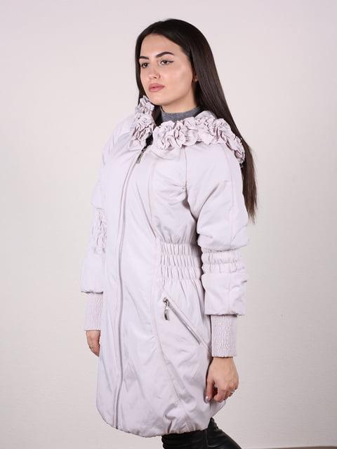 Пальто бежево-сірого кольору Artua Collection 4922457