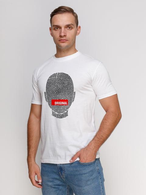 Футболка белая с принтом PrintOff 4931615