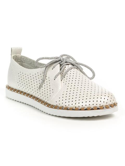 Туфлі білі Alla 4919184