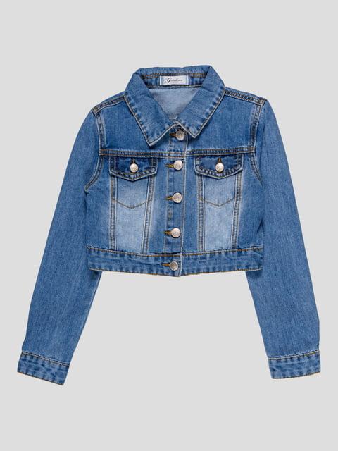 Куртка синя джинсова Gaialuna 4781177