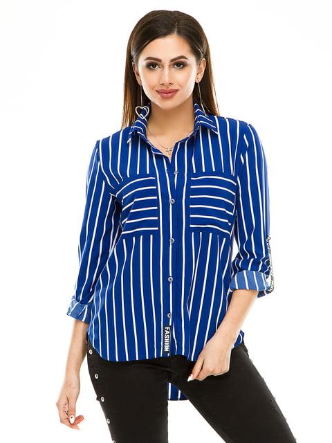 Рубашка в полоску Exclusive. 4937157