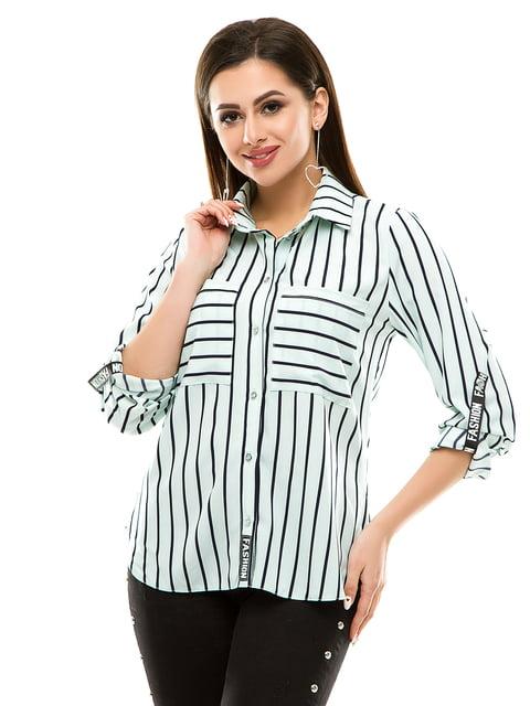 Рубашка в полоску Exclusive. 4937158