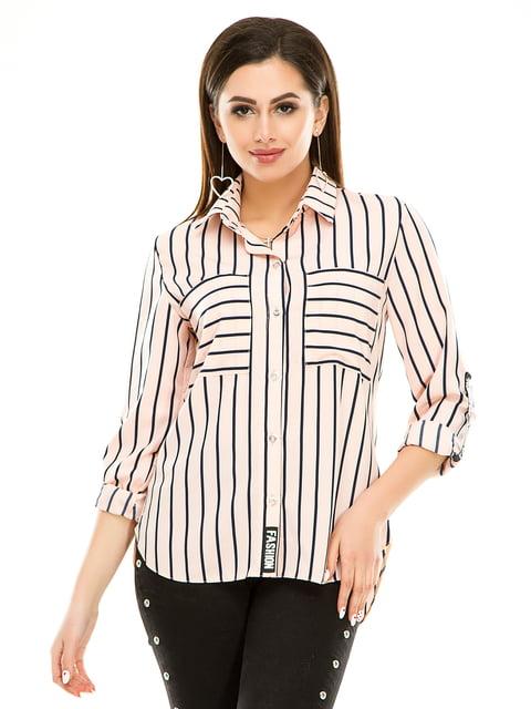 Рубашка в полоску Exclusive. 4937159